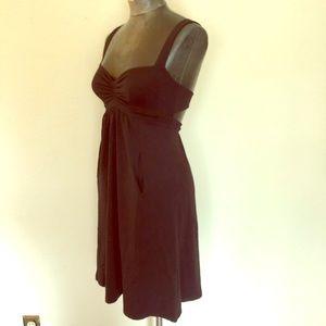 Susana Monaco Sweetheart Cut Back Cutout Dress